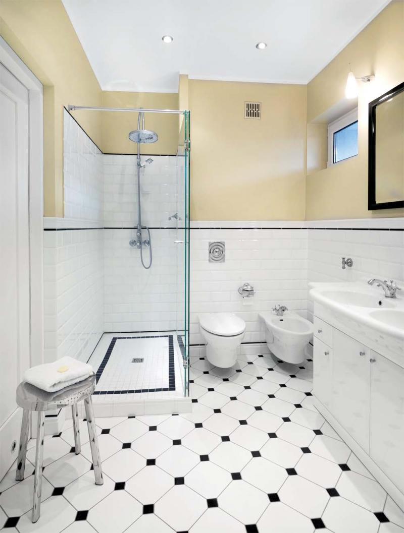 łazienka Wnętrze Domu W Stylu Amerykańskim Aranżacje