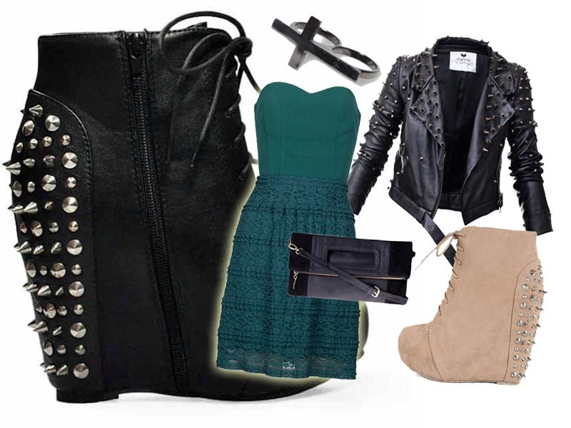 jak nosić koturny zima 2013