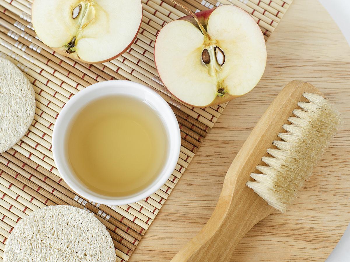 ocet jabłkowy na twarz