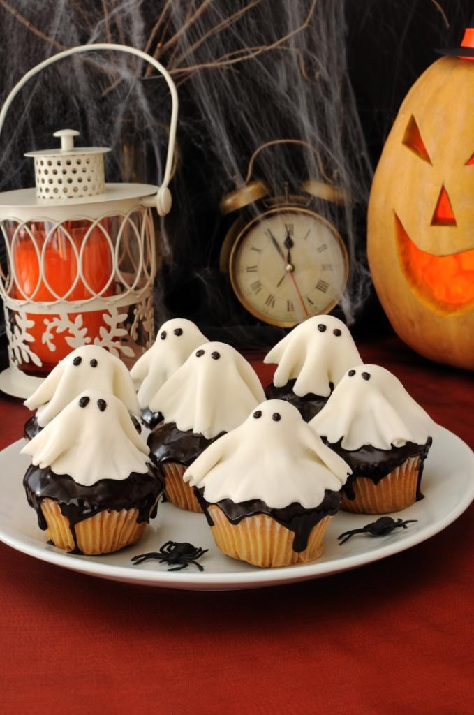 Ciasta i słodkości na Halloween