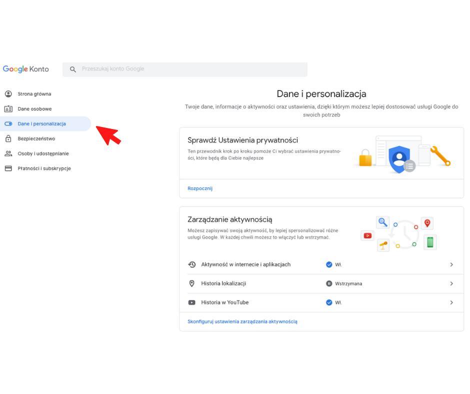 Jak usunąć konto Google krok po kroku