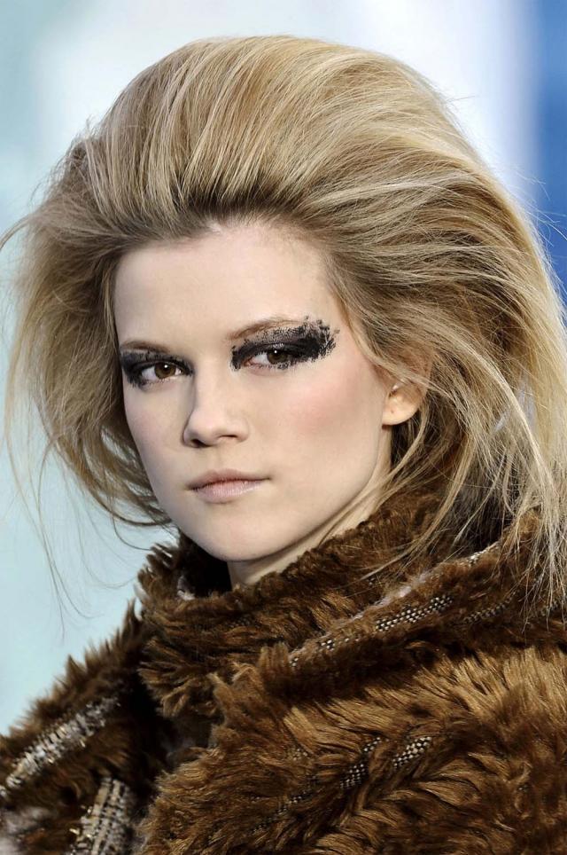 Jak Zrobić Fryzurę Z Pokazu Chanel Fryzury Zdjęcie 4 Polkipl