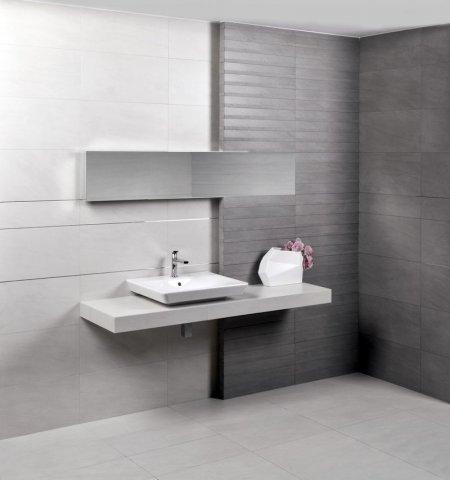 Luksusowa łazienka W Kolorach Szarości I Bieli Inspiracje