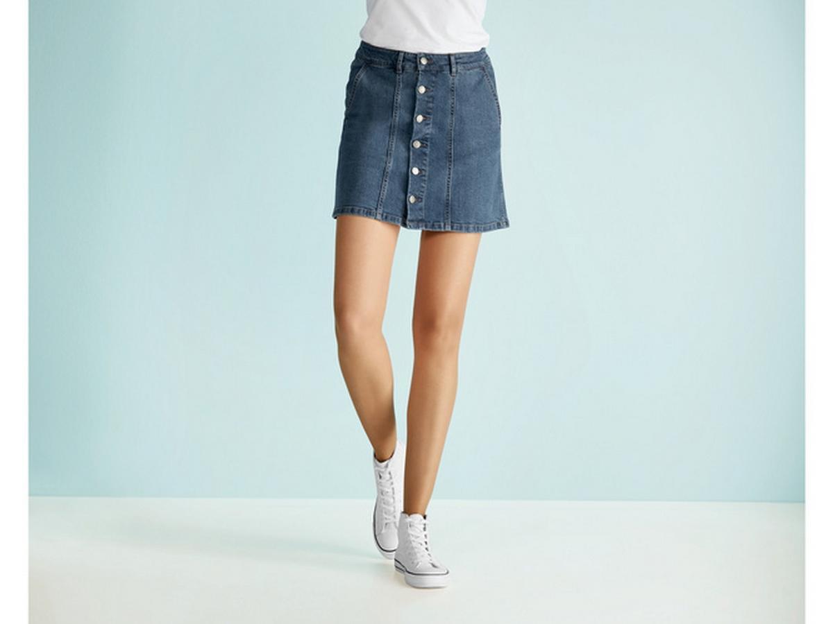 jeansowa spódnica lidl