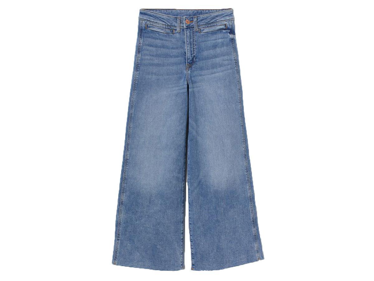 jeansowe culottes H&M
