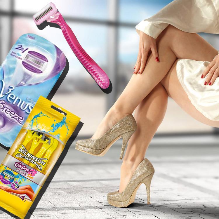 Jednorazowe maszynki do golenia dla kobiet