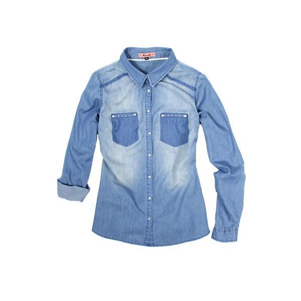 Moodo - dżinsowa koszula jesien 2013