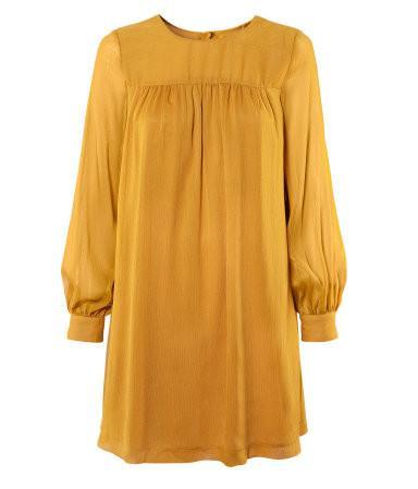 złota tunika H&M - jesień 2011