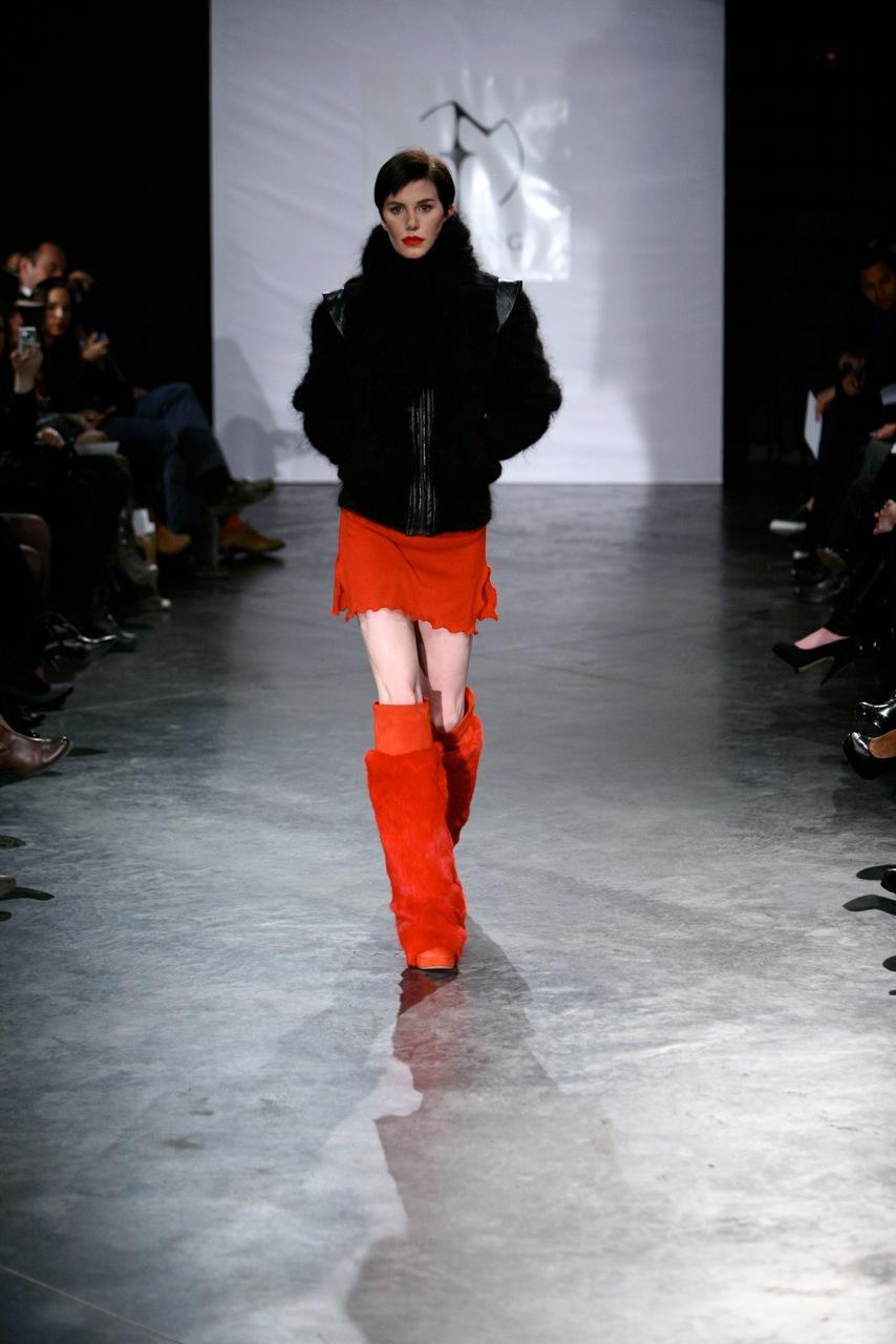 czarna kurtka Eva Minge - jesień/zima 2011/2012