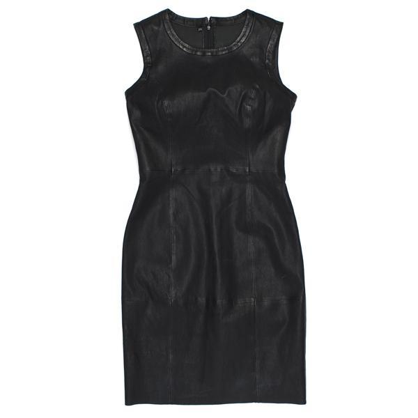 118d7e3a8a4f1 Skórzana sukienka