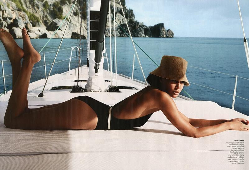 American Vogue kwiecień 2013 - Joan Smalls