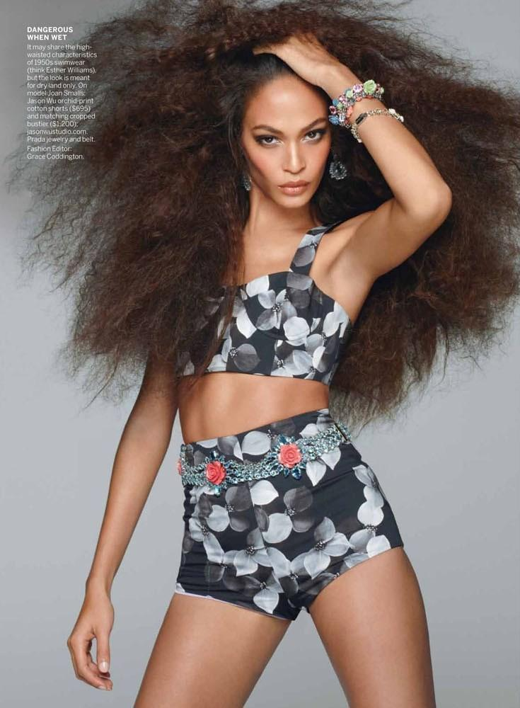 American Vogue maj 2012 - Joan Smalls