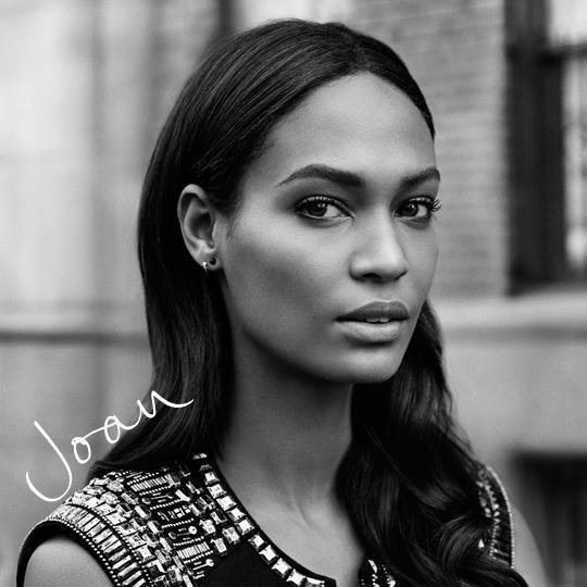 H&M kwiecień 2013 - Joan Smalls