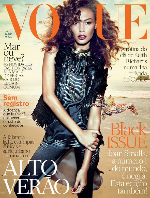 Vogue Brasil styczeń 2013 - Joan Smalls