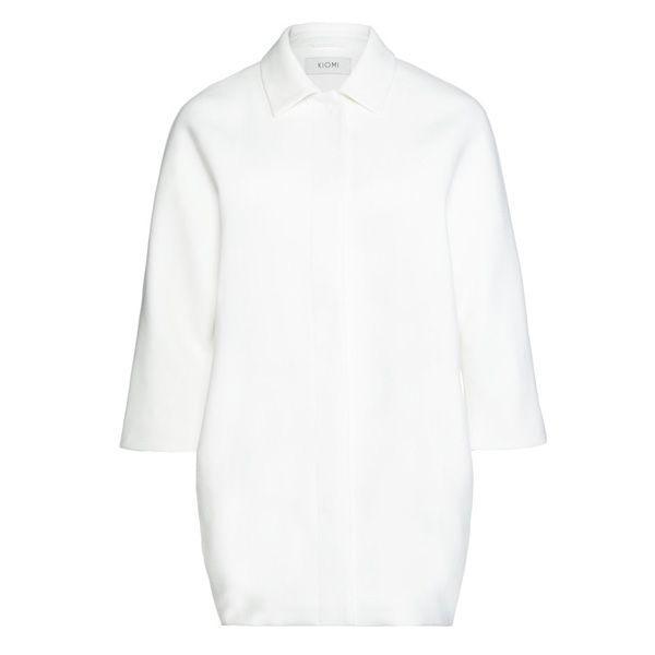 Biały płaszcz Kiomi, cena