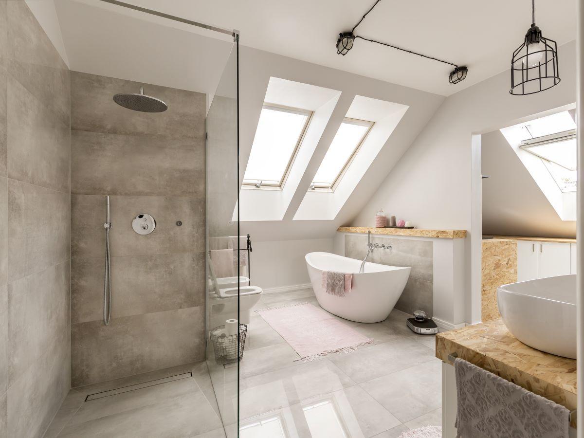kabina prysznicowa bez brodzika