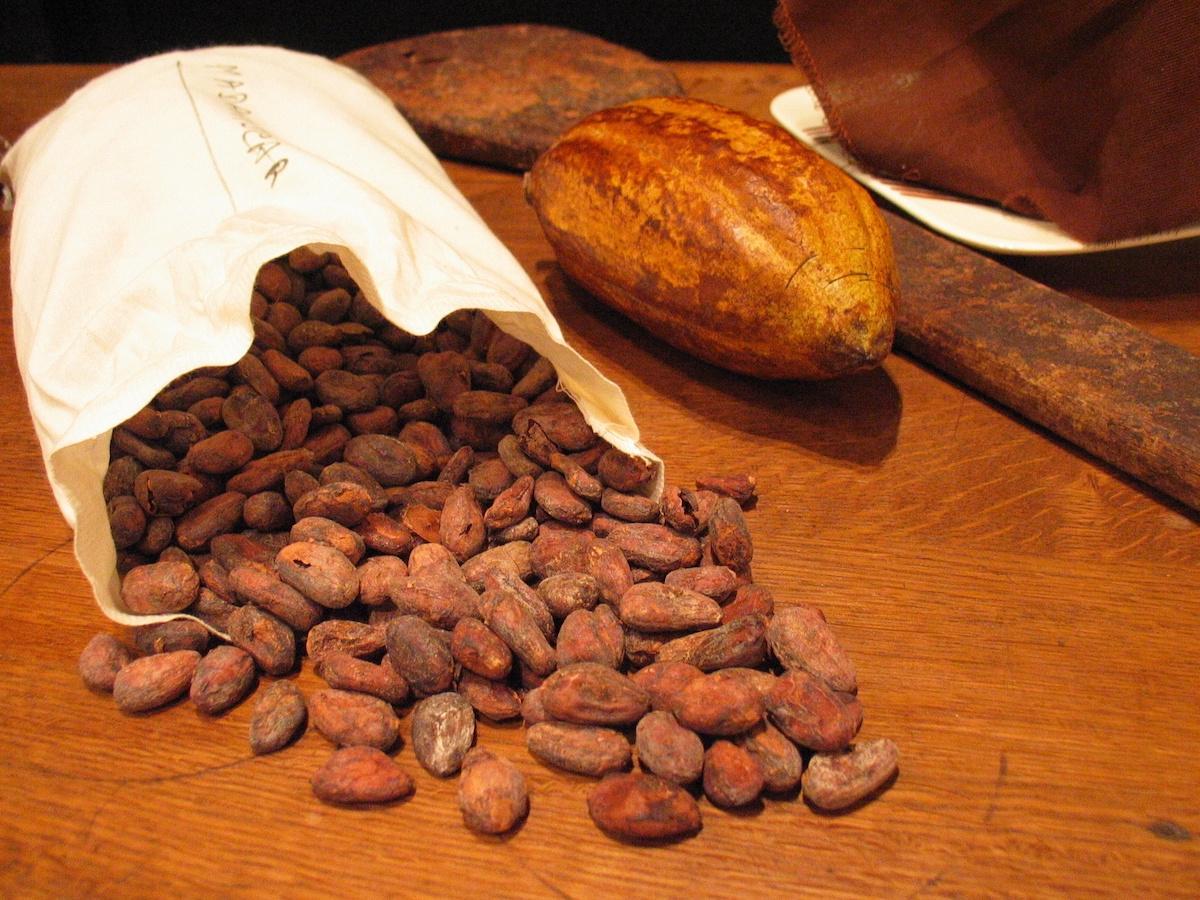 Kakao w ziarnach