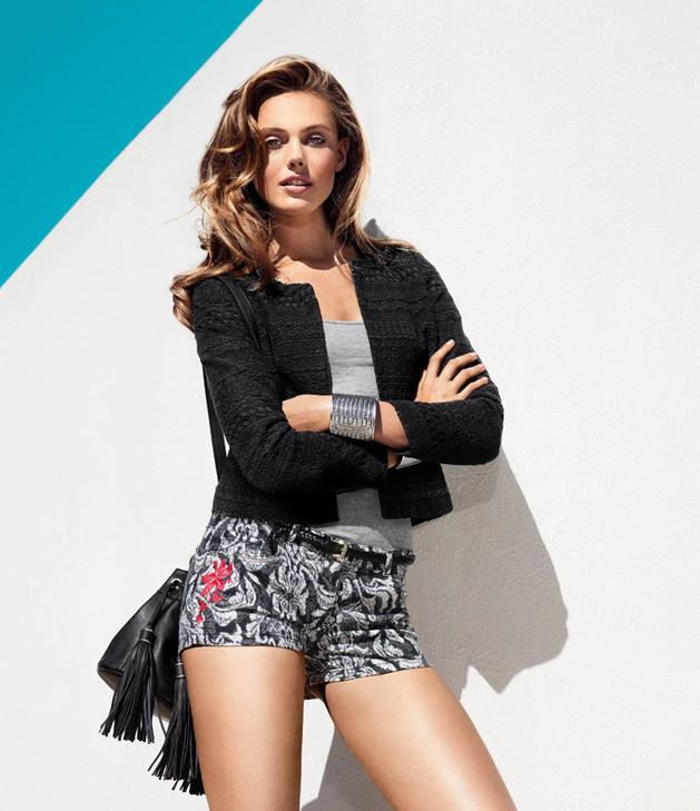 czarny żakiet H&M - trendy wiosna-lato 2013