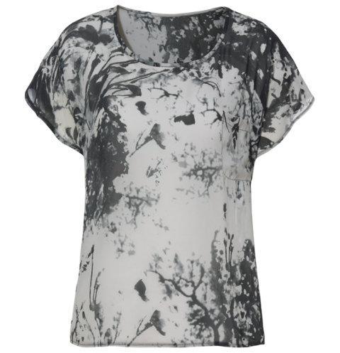 popielata koszulka Kappahl - wiosna/lato 2011
