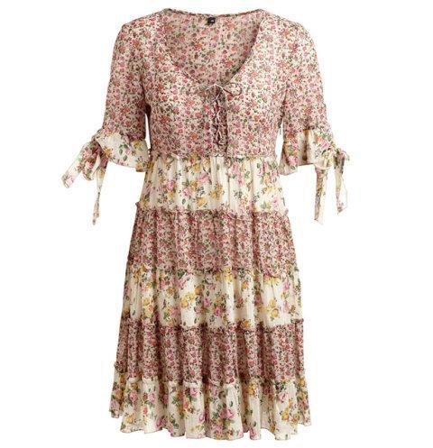 sukienka Kappahl w kwiaty - wiosna/lato 2011