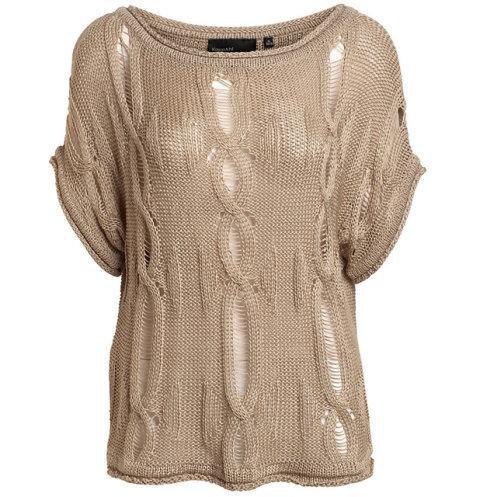beżowa bluzka Kappahl - wiosna/lato 2011