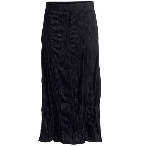 czarna spódnica Kappahl długa - wiosna/lato 2011