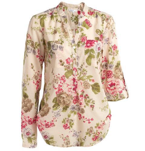bluzka Kappahl w kwiaty - wiosna/lato 2011