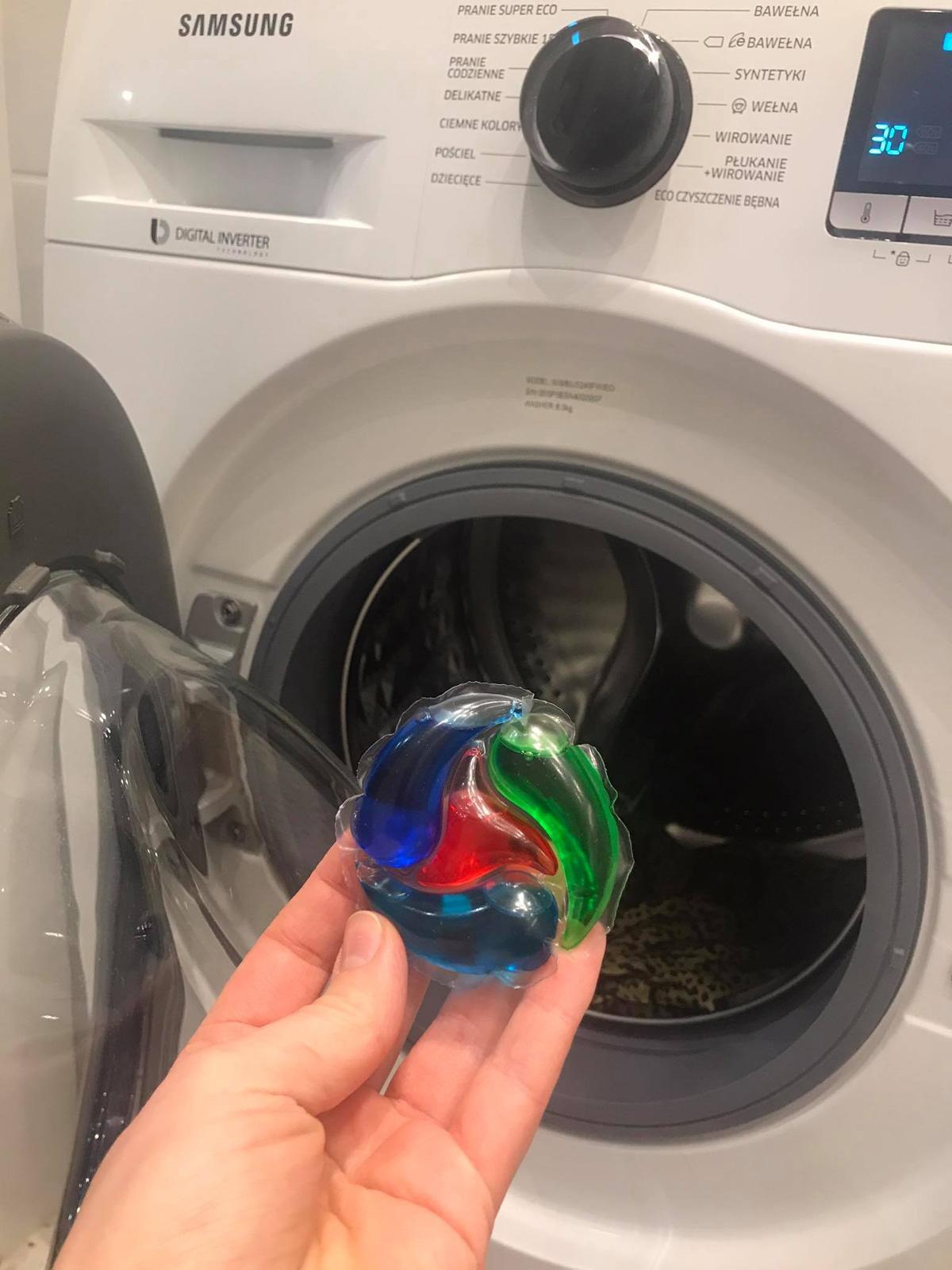 Test kapsułek do prania Persil Higieniczna Czystość