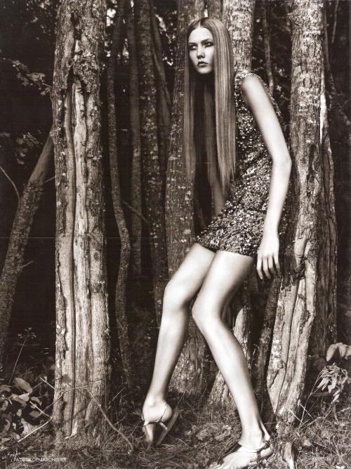 British Vogue styczeń 2009 - Karlie Kloss