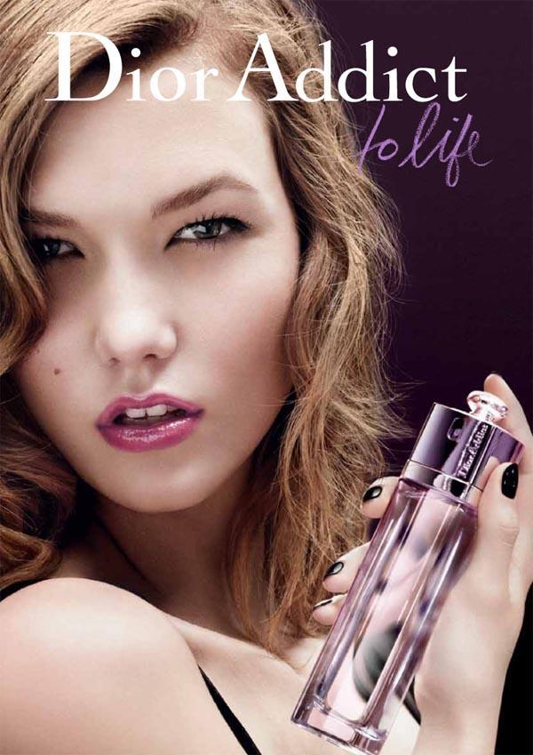 Dior Beauty lipiec 2011 - Karlie Kloss