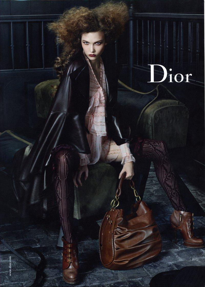Dior czerwiec 2010 - Karlie Kloss