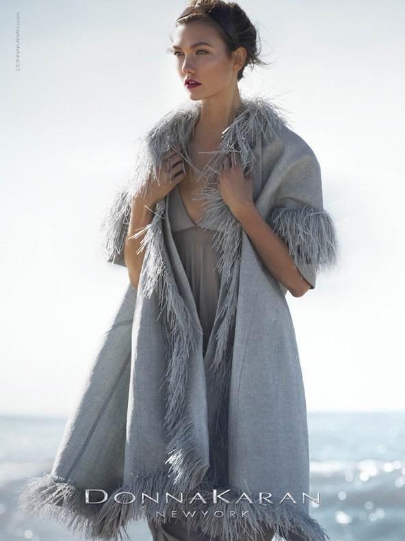 Donna Karan wiosna/lato 2013 - Karlie Kloss