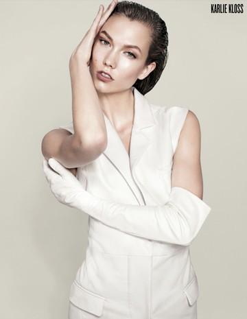 V Magazine wiosna/lato 2012 - Karlie Kloss