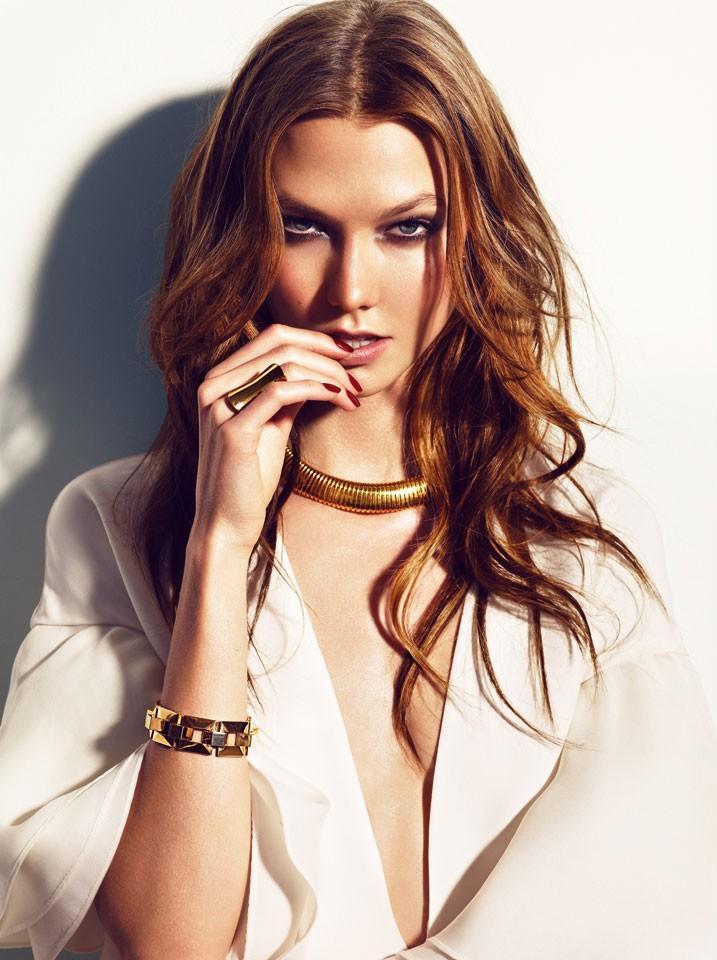 Vogue Espana luty 2013 - Karlie Kloss