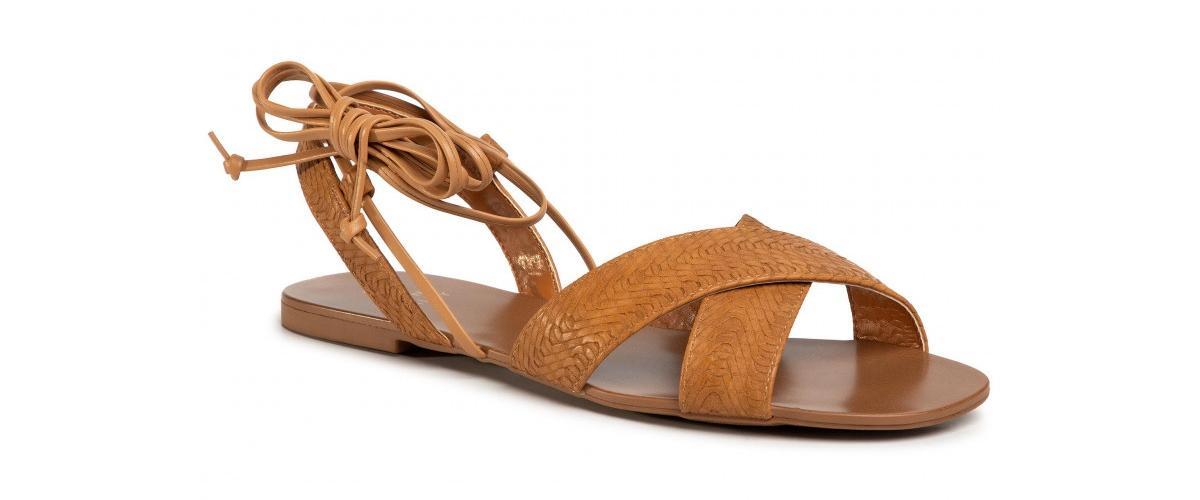 camelowe sandały Jenny Fairy
