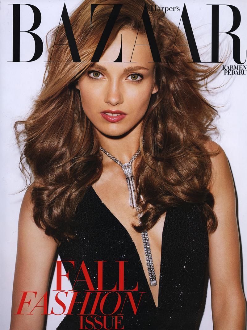 Harper's Bazaar wrzesień 2011 - Karmen Pedaru