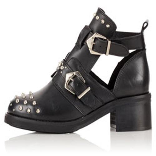 Rockowe buty Topshop, ok. 449zł