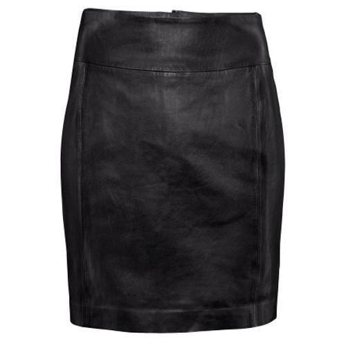Skórzana spódnica H&M, ok. 299zł