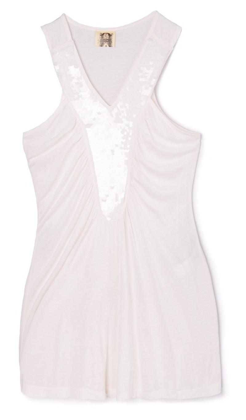 biała bluzka Cropp