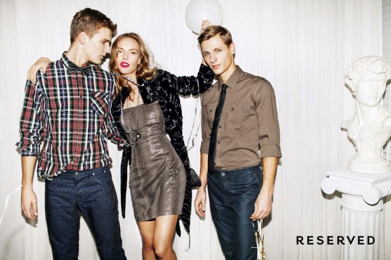 beżowa koszula Reserved - kolekcja wieczorowa