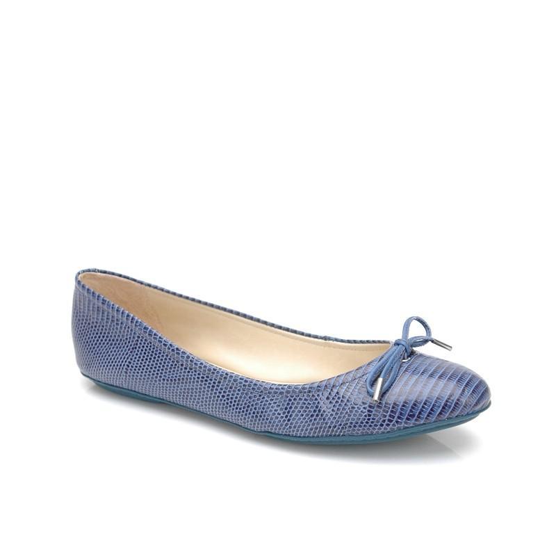 niebieskie baleriny Kazar - moda 2011