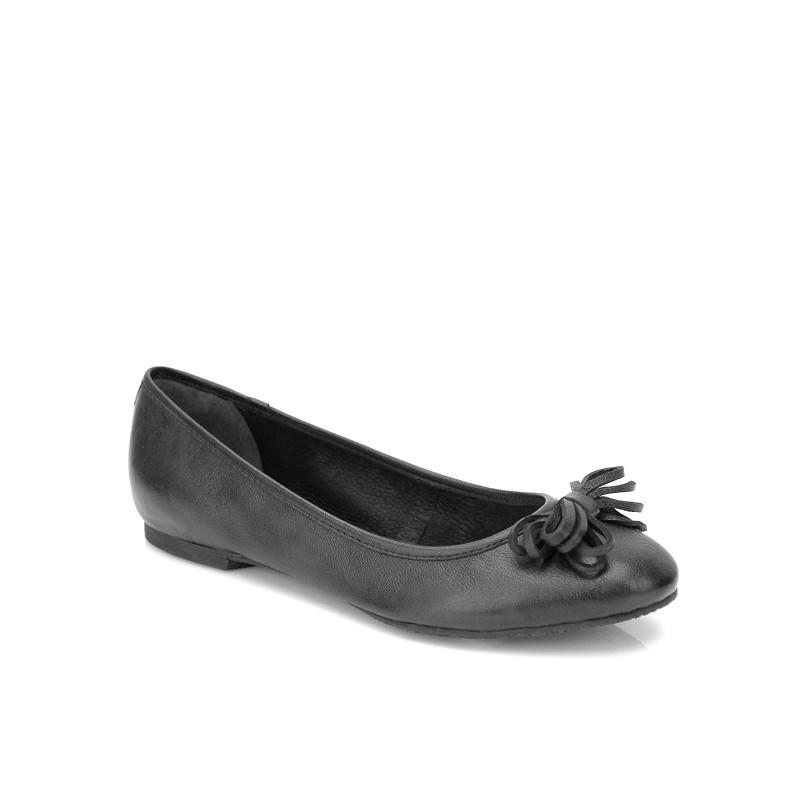 czarne baleriny Kazar - kolekcja wiosenna