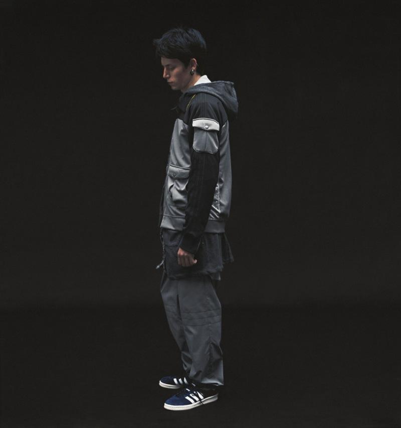 popielata bluza Adidas - z kolekcji wiosna-lato 2011
