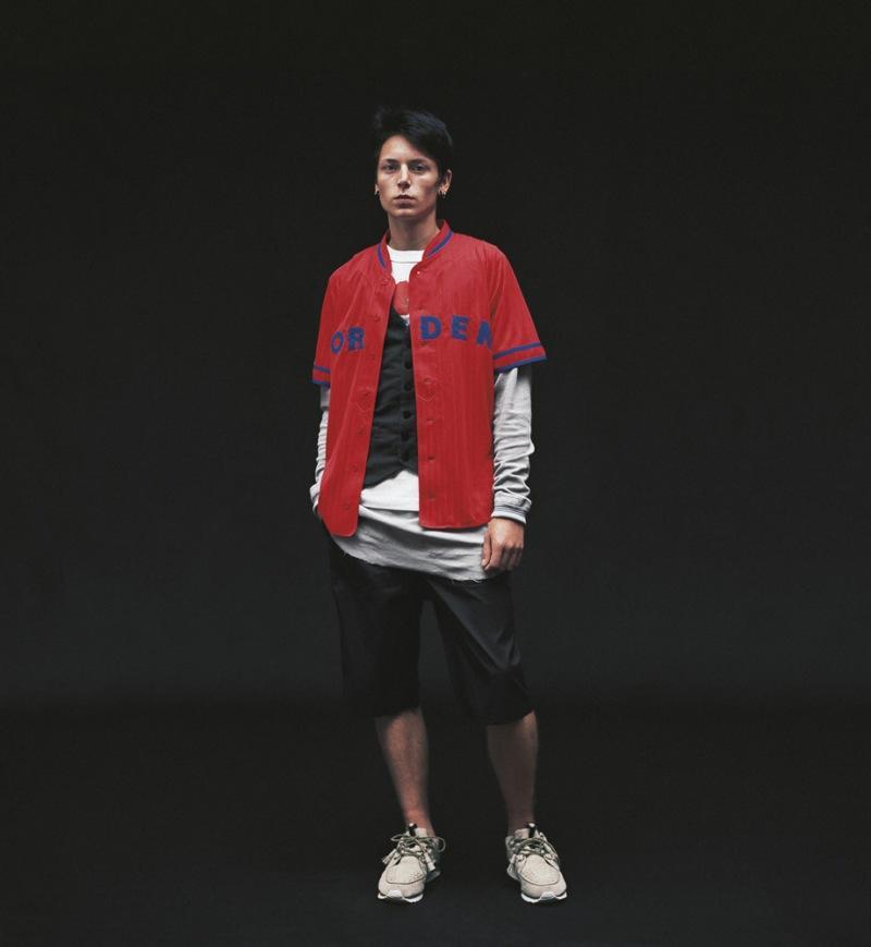 czerwona koszulka Adidas rozpinana - kolekcja wiosenno/letnia