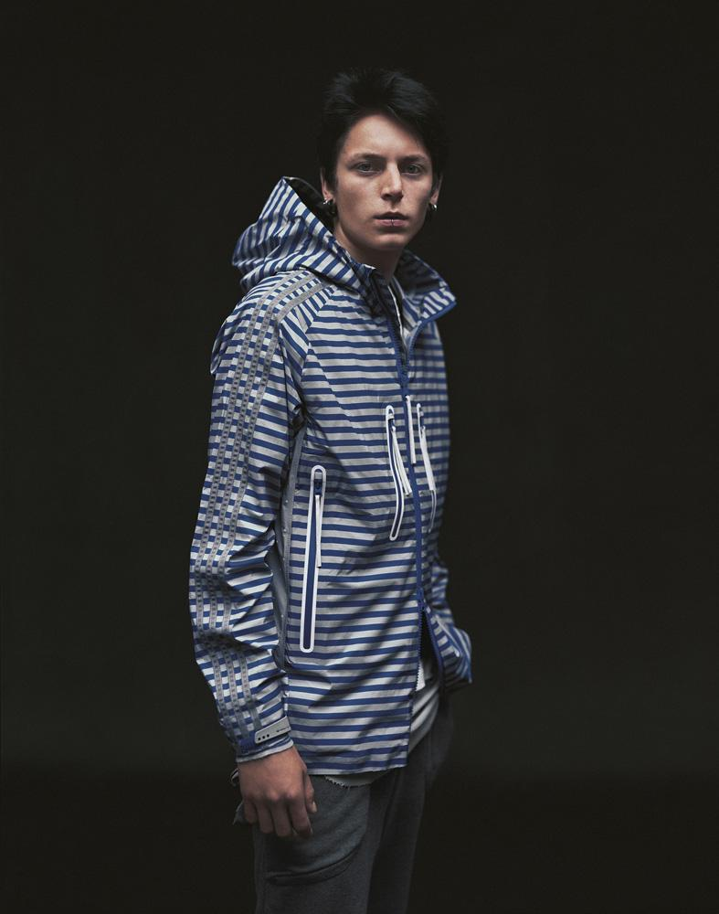 bluza Adidas w paski rozpinana - kolekcja wiosenno/letnia