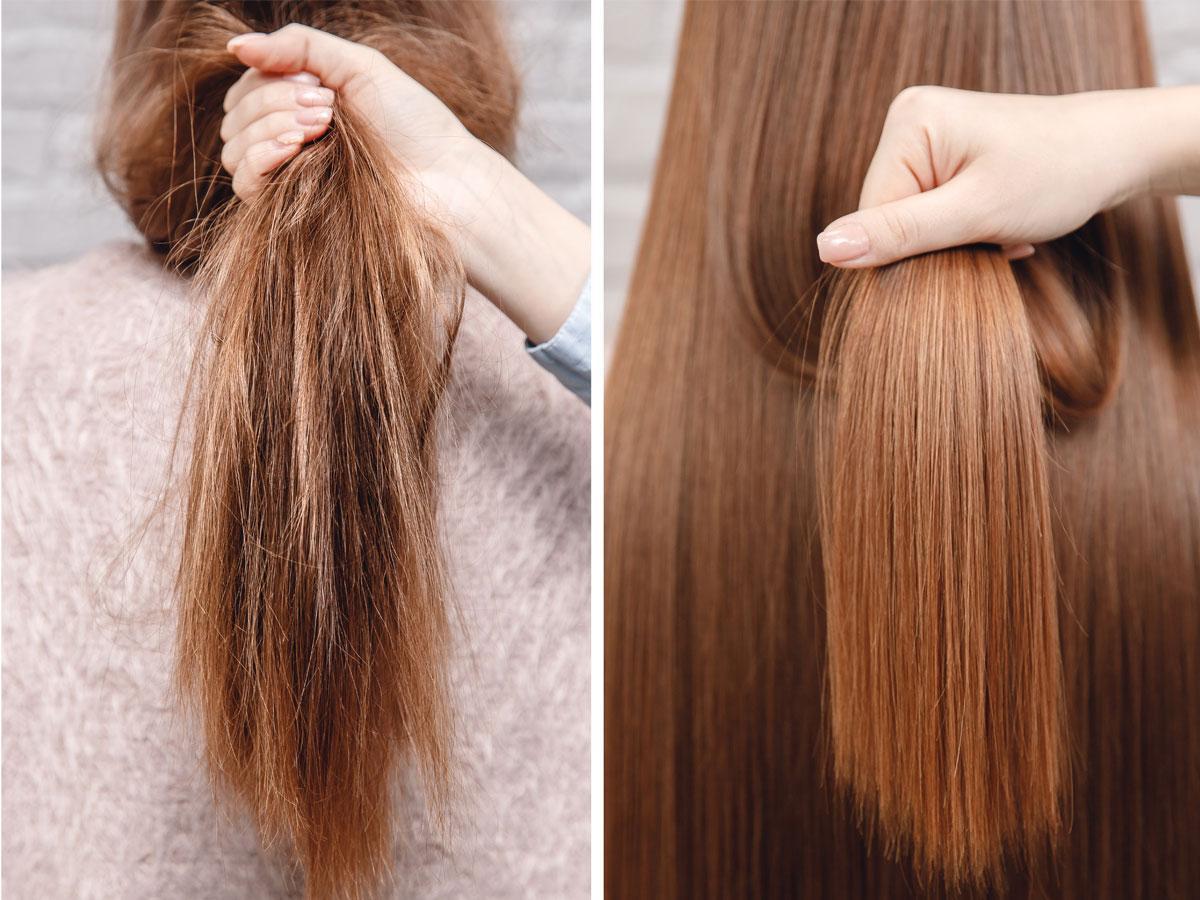 Keratynowe prostowanie włosów cena