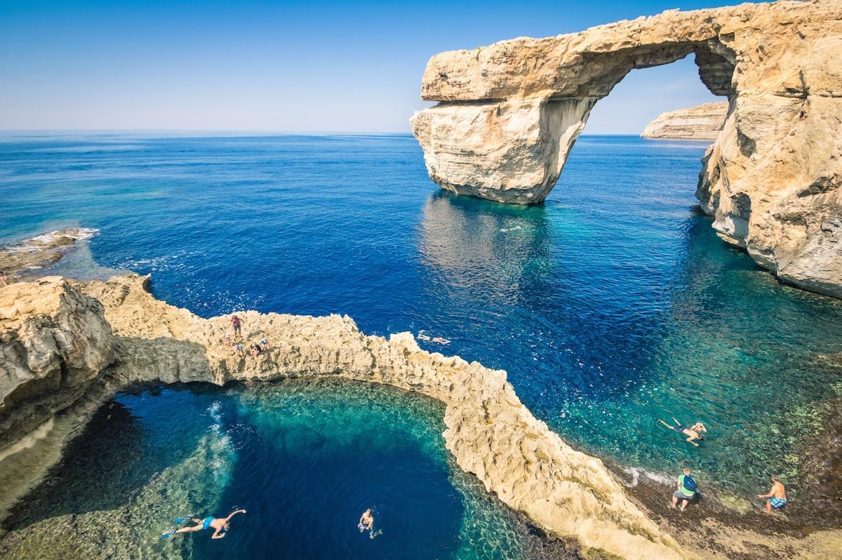 Malta, Błękitna Dziura