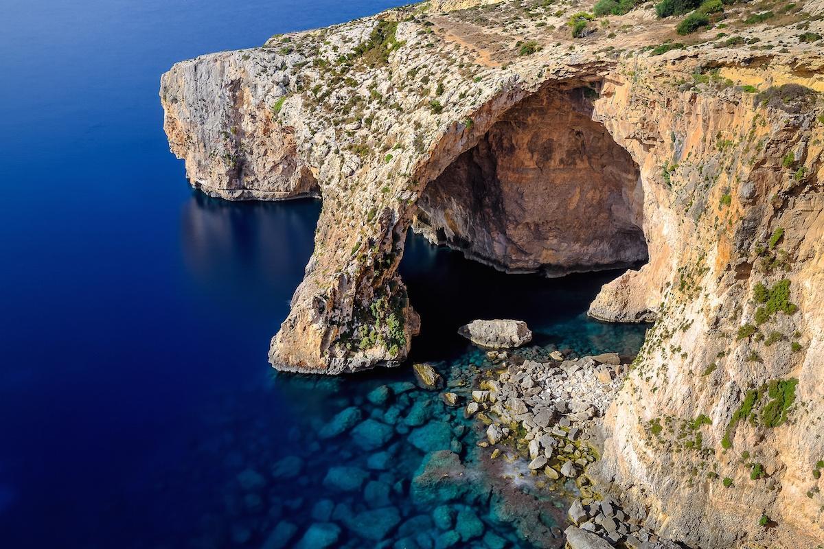 Malta, Błękitna Grota