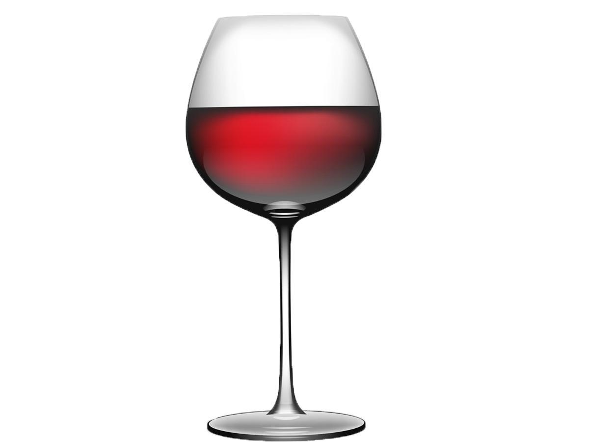 Kieliszek do wina czerwonego zdjęcie