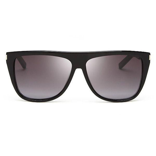 Czarne okulary Saint Laurent, cena